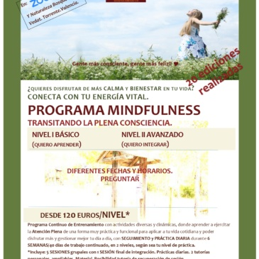 Programa Continuo de Mindfulness.