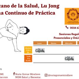 Práctica de Yoga Tibetano de la Salud Lu Jong, método y linaje Tulku Lobsang.