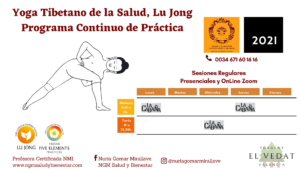 Programa Continuo de Práctica de Yoga Tibetano de la Salud Lu Jong. Nuria Gomar MIrallave.